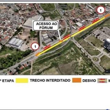 DER executa obras complementares no acesso da Avenida Recife ao entroncamento com a BR-101