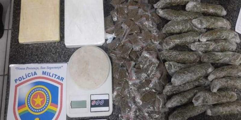 PMs do 13º BPM chegaram até o suspeito através de denúncia de venda de drogas em área próxima ao Parque do Caiara