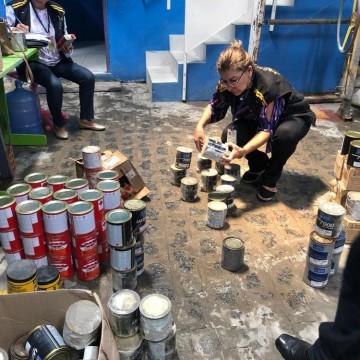 Procon e Sefaz interditam loja de tintas no Recife