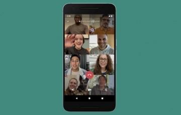 Whatsapp agora permite chamadas de vídeo com até 8 pessoas