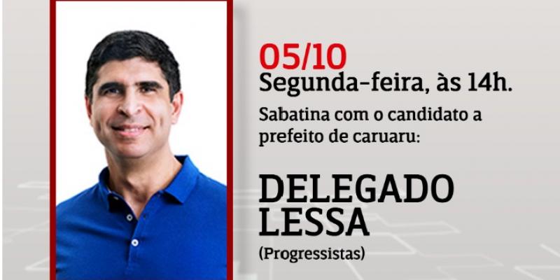 O candidato do Progressistas a prefeitura de Caruaru é o primeiro convidado da série de entrevistas.