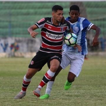 Mesmo sem entrar em campo, Santa Cruz é eliminado da Copa do Nordeste Sub-20