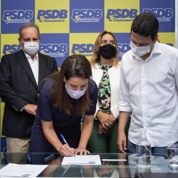Raquel Lyra assume presidência do PSDB em Pernambuco