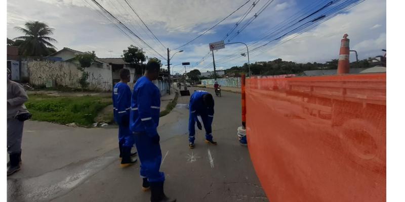 Intervenção envolve esgoto, drenagem, pavimentação e outros serviços