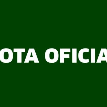 Nota Oficial Rádio CBN Caruaru