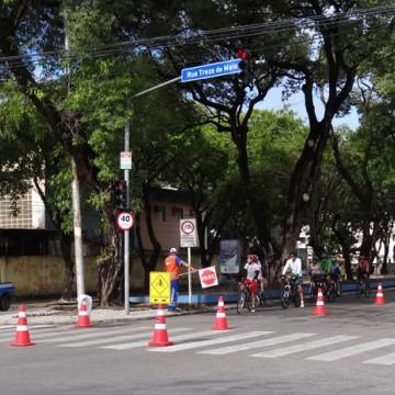 Ciclofaixa não vai ser montada durante domingo de Enem