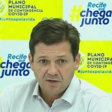Recife proíbe visita a pacientes infectados e a casos suspeitos da Covid-19