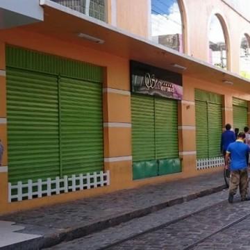 Comércio, Indústrias e Prestadoras de Serviços continuam fechados em Pernambuco