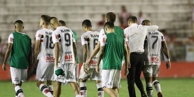 Tricolor perdeu para o Náutico e ficará de férias até o final do ano