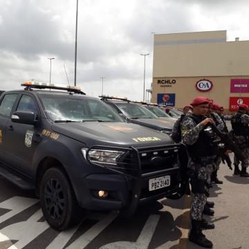 Equipes da Força Nacional encerram os trabalhos na cidade do Paulista