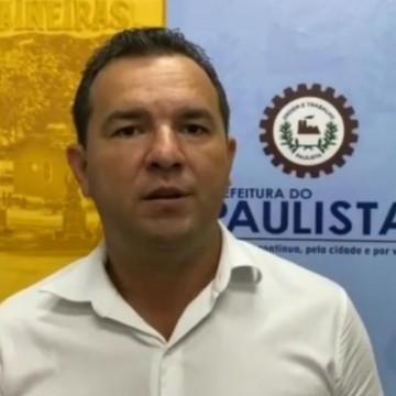 Junior Matuto é novamente afastado do cargo de prefeito de Paulista
