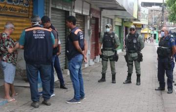 Evitar aglomerações é a maior demanda da Polícia em Pernambuco