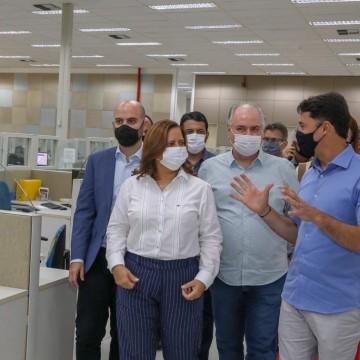 Prefeitos de Jaboatão e Ipojuca tratam de parceria no setor de iluminação pública
