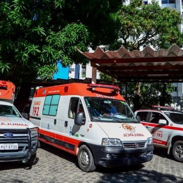 Quarenta e três profissionais do Samu estão infectados pelo novo coronavírus