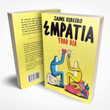 """""""Empatia todo dia"""" sugere o livro do escritor pernambucano Jaime Ribeiro"""