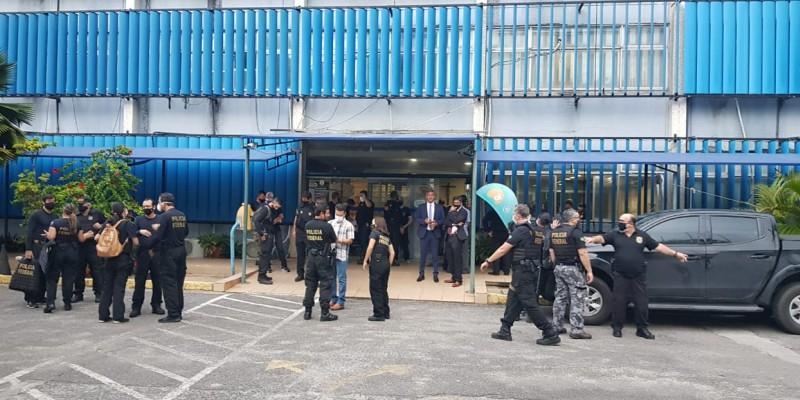 O empresário Paulo Magnos, um dos sócios do Instituto Humanize, foi preso temporariamente na Zona Sul da capital