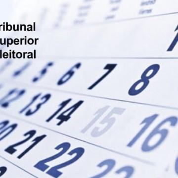 Acompanhe o calendário eleitoral