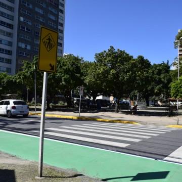 Nova Zona 30 é implantada na Ilha do Leite, com espaços mais seguros para pedestres e ciclistas