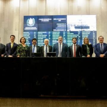 Deputados elegem nova Mesa Diretora da Assembleia Legislativa para biênio 2021-2023