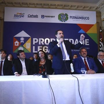 Governo de Pernambuco lança novo projeto de regularização fundiária