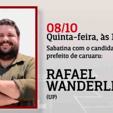 Panorama CBN: Entrevista com o candidato a Prefeito de Caruaru Rafael Wanderley (UP)