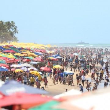Praias estaduais registram aglomerações e falta de prevenção contra o novo coronavírus