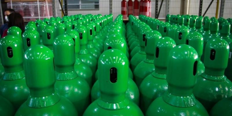 As distribuições do oxigênio será de acordo com a necessidade apresentada pelas prefeituras