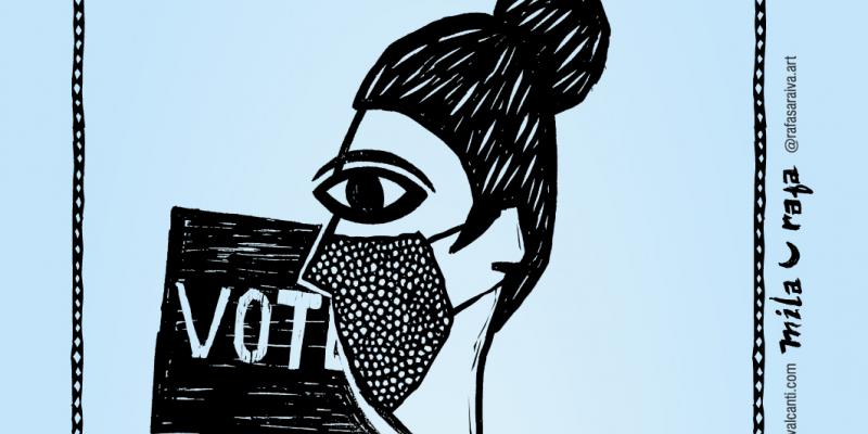 A iniciativa explica questões de que os eleitores devem ficar atentos para escolher seus candidatos e o que devem fazer para evitar disseminar informações falsas