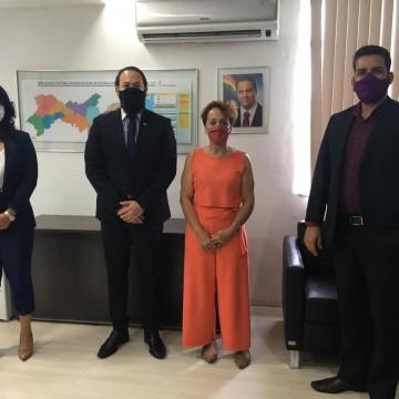Laura Gomes tem reunião com Secretário Estadual de Defesa Social