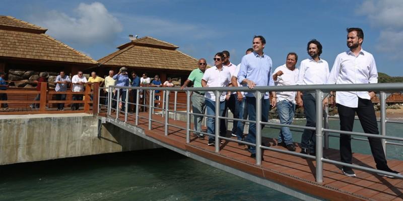 A obra contou com um investimento de aproximadamente R$ 6 milhões de reais