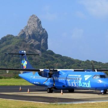 Fernando de Noronha limita a quantidade de voos para sete pousos semanais na ilha