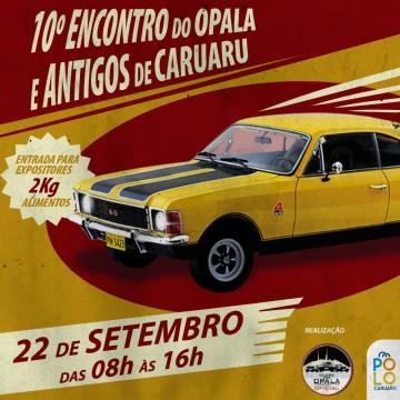 Encontro de Opalas e demais carros antigos será realizado no Polo caruaru