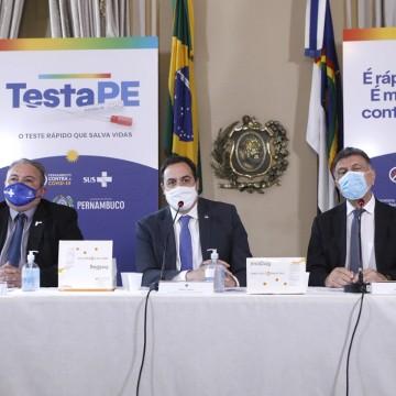 Pernambuco lança programa TestaPE