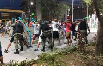 Polícia Militar faz ronda na Via Parque