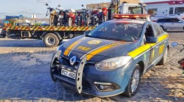 Operação  Sulanca recolhe 39 veículos em Toritama