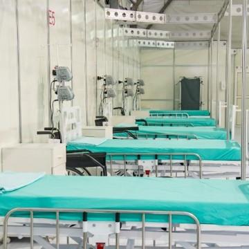 Recife desmonta hospitais de campanha