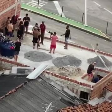 Vídeo com homens portando armas em comunidade do Recife se tratava de um clipe