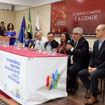 Cultura de paz é difundida por meio de Conferência promovida pela Prefeitura do Recife