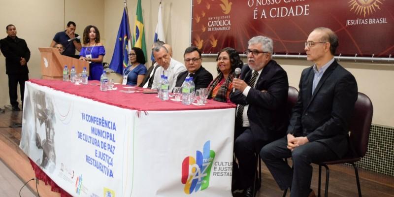 A ideia é criar um Marco Legal Municipal para a Cultura de Paz e a Justiça Restaurativa