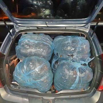Motoristas de aplicativo são detidos com 60 quilos de maconha em São Caetano
