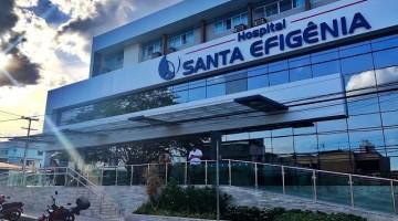 Hospital Santa Efigênia confirma caso de paciente com covid-19 na unidade