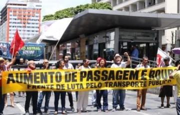 Frente de Luta lança central para denunciar ônibus lotados