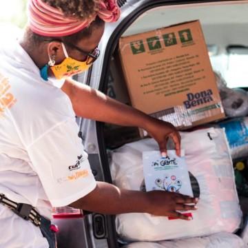 Mães de Noronha recebem auxílio da Central Única das Favelas por causa da pandemia