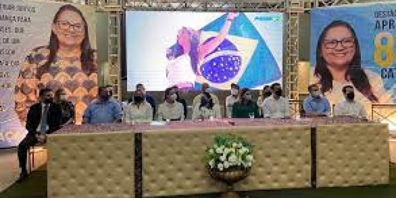 Finalizando a agenda na Mata Sul, a presidente do partido realizou uma visita institucional à prefeita de Cortês Fátima Borba