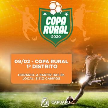 Copa Rural de Futebol Amador promete emoção para os quatro distritos de Caruaru