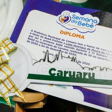 Prefeitura de Caruaru promove Semana do Bebê