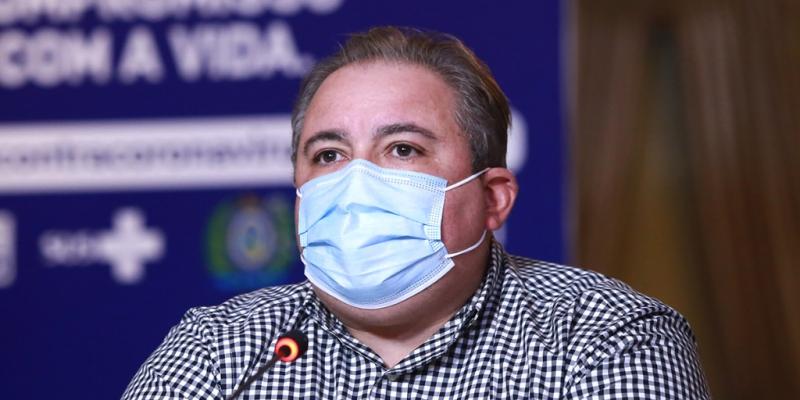 Apesar dos indicadores de isolamento pouco alterados, André Longo disse que foi interrompido o crescimento da pandemia na região