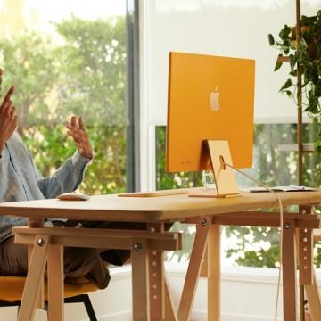 Apple revela novo computador iMac com Chip M1