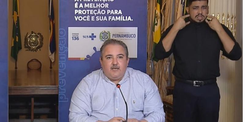 Secretário estadual de Saúde, André Longo, disse que PE, já esteve um passo à frente, agora se vê sendo ultrapassado pela doença