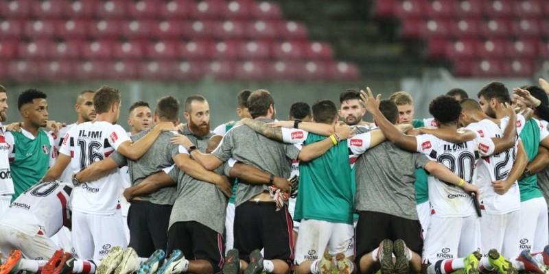 Tricolor acompanha o término da rodada que acontece nesta segunda-feira (05).